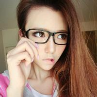 qq头像女生戴眼镜可爱