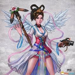 ...望先锋 英雄玩穿越 高丽风格天使美貌胜嫦娥