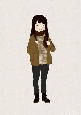 虽然说很可爱,但是冬天最重要的还是保暖哦,不能因为
