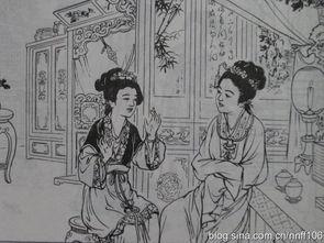 刘旦宅画红楼之线描连环画 史湘云