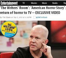 美国恐怖故事 编剧称恐怖片受欢迎因其反映现实