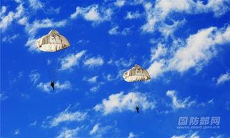 雨伞花-原标题:朵朵伞花绽蓝天 空降兵带你高原跳伞带你飞