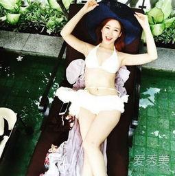 韩国美女主播晒性感自拍 傲人上围吸睛 2