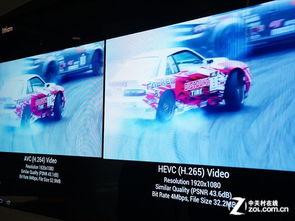 比如在同一部1080p分辨率的视频,用H.2
