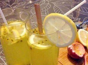 柠檬百香果蜂蜜茶减肥吗