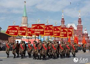 俄罗斯举行盛大阅兵式纪念卫国战争胜利70周年