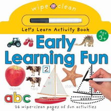 ...ng Fun Wipe Clean Let s Learn Activity Books