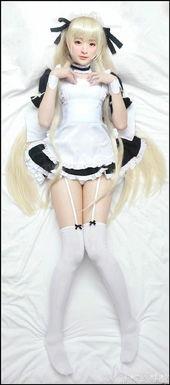 爱丽丝伪娘团穹妹女仆抱枕COS-伪娘女仆COS 真心给跪了请收下我的...