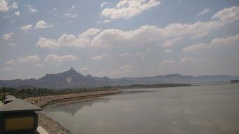 黄河   大坝.