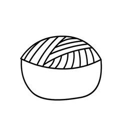 一碗面条的简单画法