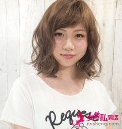 女生发型设计与脸型搭配 塑造女神范 5