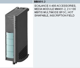 西门子工业交换机SCALANCE X400系列介质模块高清图片 高清大图