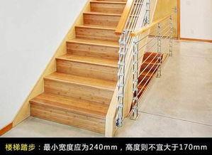 楼梯踏步计算公式图解 楼梯的踏步尺寸多少合适