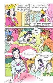 ...ow不可思议的漫画英语 白雪公主 21024267-英语白雪公主