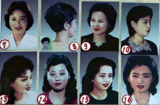 朝鲜 官方推荐18种女性发型或为对抗西方影响