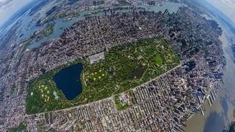 站在空中俯视全世界各大著名的城市是什么感觉,差距一目了然