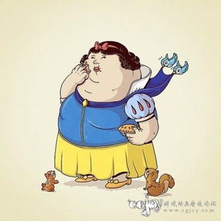 胖子动漫角色合集