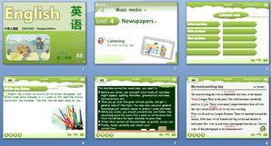 news_list_2_4-课件共15 张幻灯片,主要是教材内容的呈现,有嵌入式音频. ======...