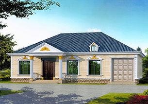 10万元一层小别墅设计图推荐 图纸之家