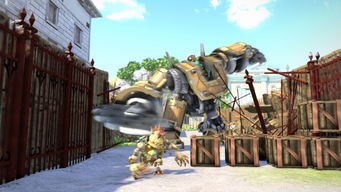 PS4 纳克 Knack 多人合作模式截图公布