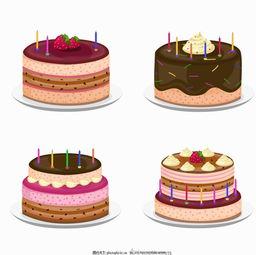 盒装生日蛋糕蜡烛
