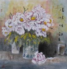 作品《春光无限》-走进中国著名国画艺术家黄文汇