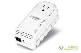 ...-307E电力网络适配器-TRENDnet推出200M紧凑型电力网适配器