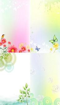 水彩手绘唯美粉色小清新植物花卉礼海报背景-PSD粉色女人 PSD格式...