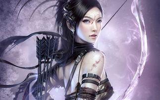 精美CG美女手绘动漫角色人物设定图片设计素材 高清模板下载 2.79MB 其他大全