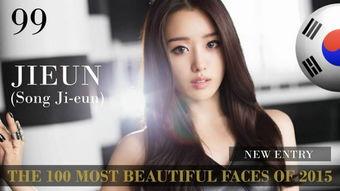 ...cret团员 宋枝恩(韩国,歌手/演员)-世界最美脸蛋排行 她在中国排...