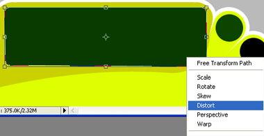 cdr矩形变圆角快捷键-...点的形状,使其变成梯形.-Photoshop形状工具巧绘卡通风格网页导...