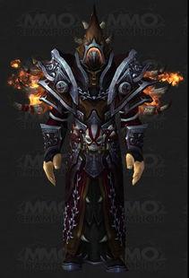 魔兽世界6.0术士T17套装 绿火骨堆凸显邪恶