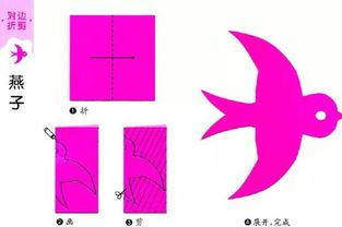 1kboughtthiswish-超有趣的儿童对称剪纸 1 对边折剪