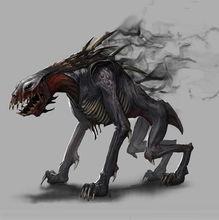 崛起3 泰坦之王 中的地狱犬设定图公布