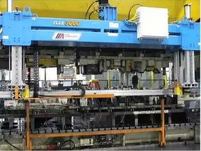 日本多工位冲压模具自动化生产线 单件流