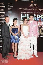 苍井空 谢安琪出席 香港亚洲电影节开幕礼