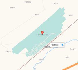 长春地铁2号线延长线赵家岗东站至九台南站路过机场吗