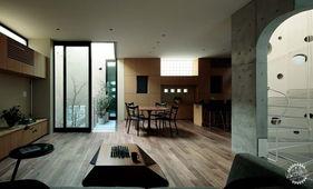 日本东京M住宅室内设计