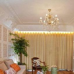 美式家庭室内客厅电视背景墙图片效果图-美式电视背景墙图片效果图
