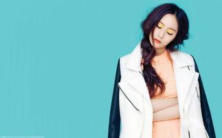 韩国美女郑秀晶桌面壁纸 第10张