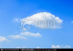 碎天逆旅-蓝天白云 碎积云 素材