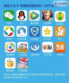 高铁王卡免流应用app大全推荐