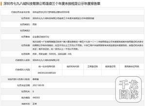 ...告 深圳市七九八域科技有限公司接罚单