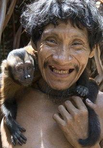 组图 探秘印第安游牧部落 正面临种族灭绝威胁