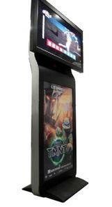 供应双屏立式液晶广告机 双屏落地式刷屏机 LCD双屏高清数码广告机