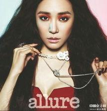 日讯 韩国女团少女时代成员Tiffany日前携手某时尚杂志以