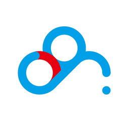 AI绘制百度云的标志logo