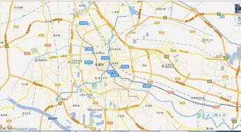 2016最新天津市市区交通地图查询,天津市市区交通地图高清版下载,...