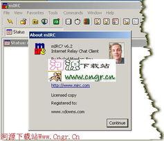 ...C 6.35 英文绿色特别版 英国mIRC公司出品风靡于全世界的IRC类客...