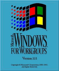 ...indows for Workgroups 3.11-1987 2007 Windows启动画面图析